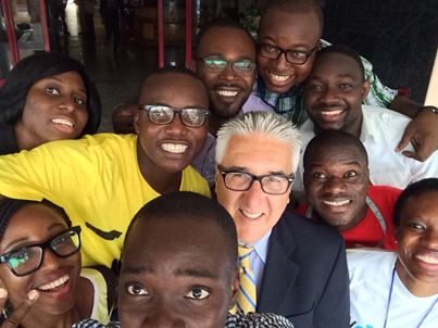 #Selfie with US Ambassador